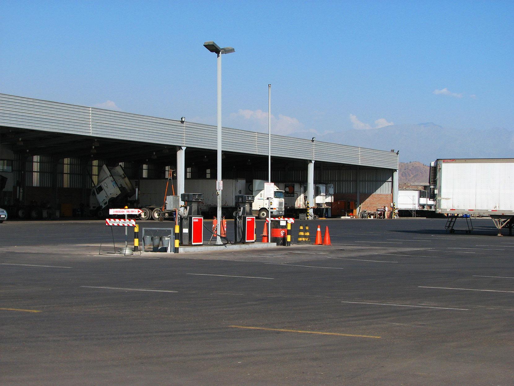 Surtidores de combustible - Transportes Astros