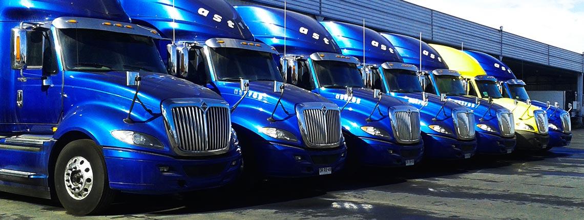 Servicios transporte carga general