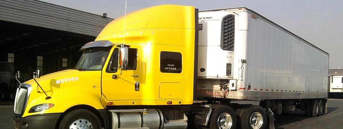 Servicios transporte carga frigorífica
